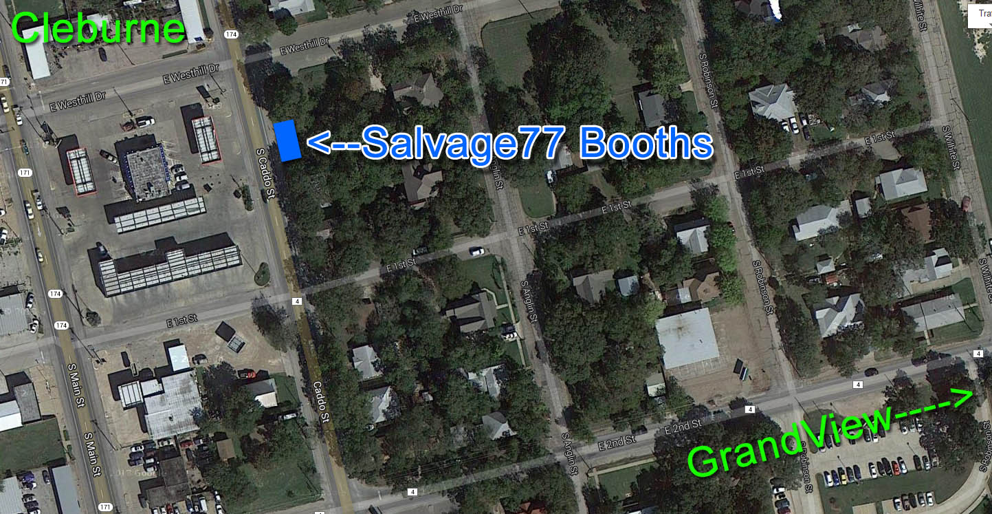 Salvage77.com » Antique Alley Texas – 37 Miles of Shopping