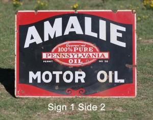 Sign 1 Side 2