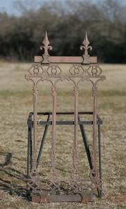 cast fence panel