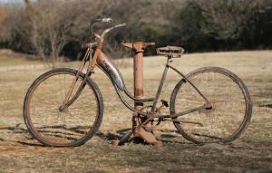 vintage springer bike
