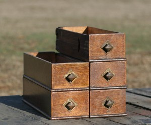 sewing machine drawers