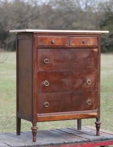 antique dresser marble top