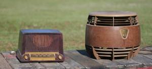 radio and fan
