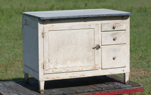 hoosier cabinet bottom