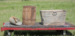 scoop barrel and tub