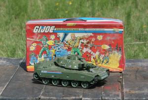 GI Joe case and tank