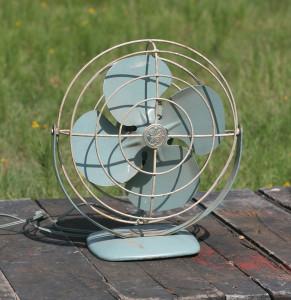 baby blue fan