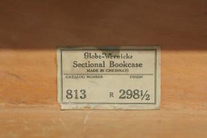 bookcases model sticker