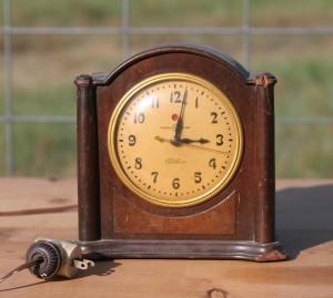general electric telechon eletric clock