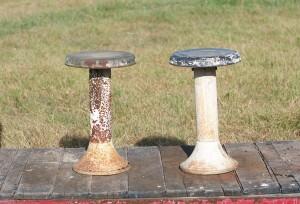 iron stools