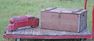 train and box