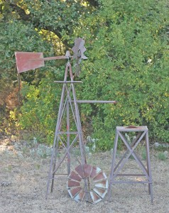 windmill and water tank stand