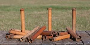wood spools lot