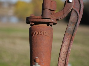 hoosier water pump detail