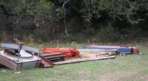 pallet rack parts