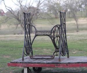 singer sewing machine base