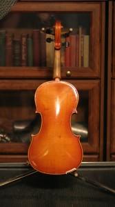 violin 02 - Karl Reiser - back
