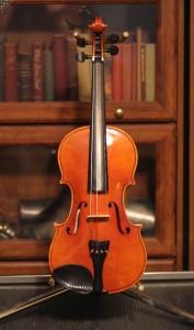 violin 02 - Karl Reiser - front