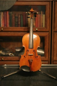 violin 03 Stradivarius copy - front -