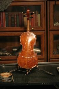 violin 05 Stradivarius copy - back -