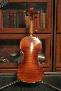 violin 1 - Franz Wilhelm 1911 back