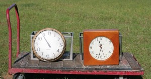 clocks front