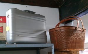 Zero Halliburton aluminum case and picnic basket