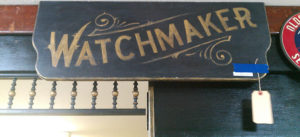 watchmaker sign