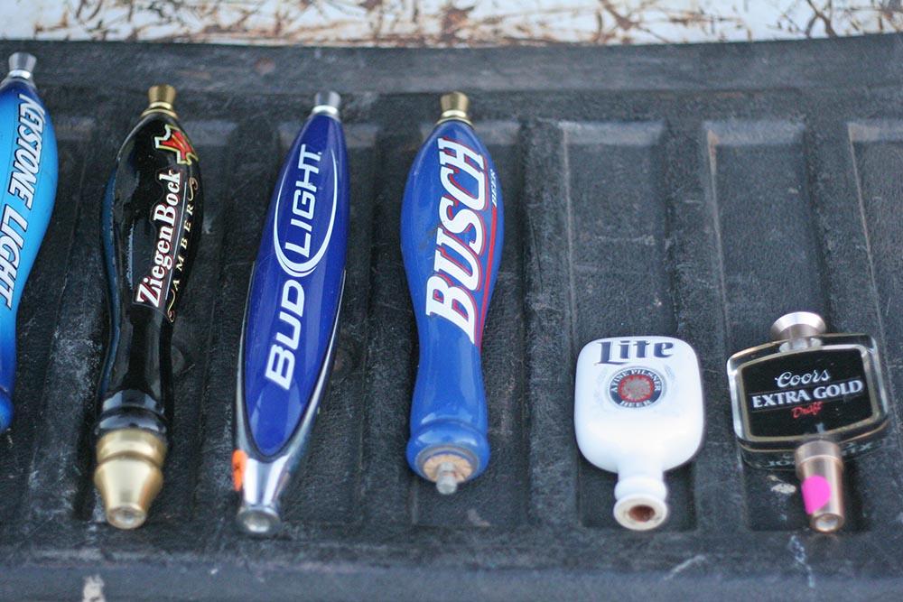 beer tap pulls